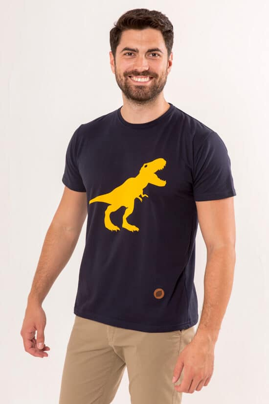 camiseta-unisex-sirlemon-dinosaurio