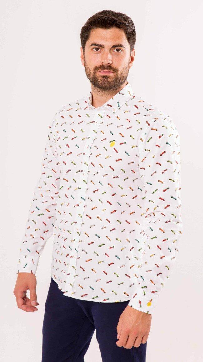 camisa-hombre-sirlemon-estampado-original-coches