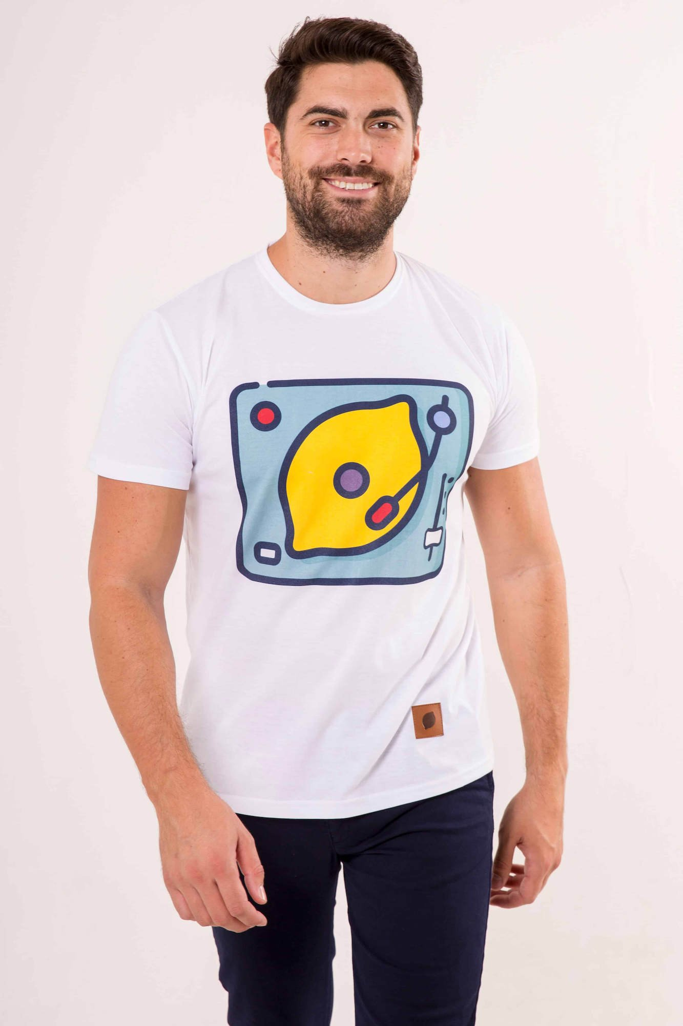 camiseta-sir-lemon-dj-unisex