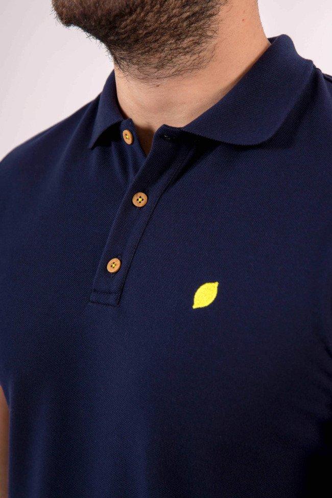 polo-sir-lemon-marino-algodón