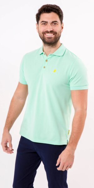 polo-sir-lemon-verde-algodón