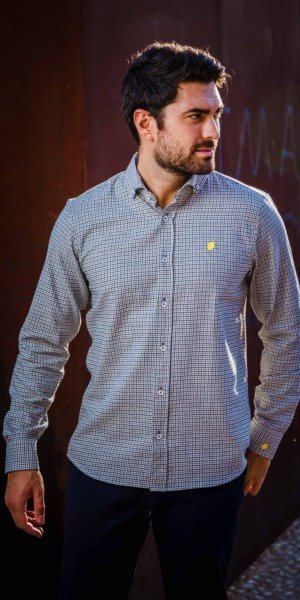camisa-de-hombre-sir-lemon-pata-de-gallo-negro
