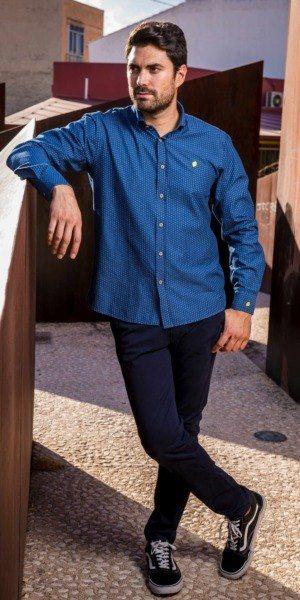 camisa-de-hombre-sir-lemon-denim-calaveras